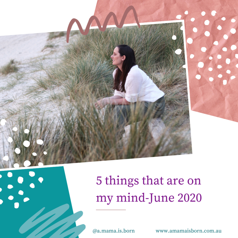Read more about the article 5 things that are on my mind-June 2020