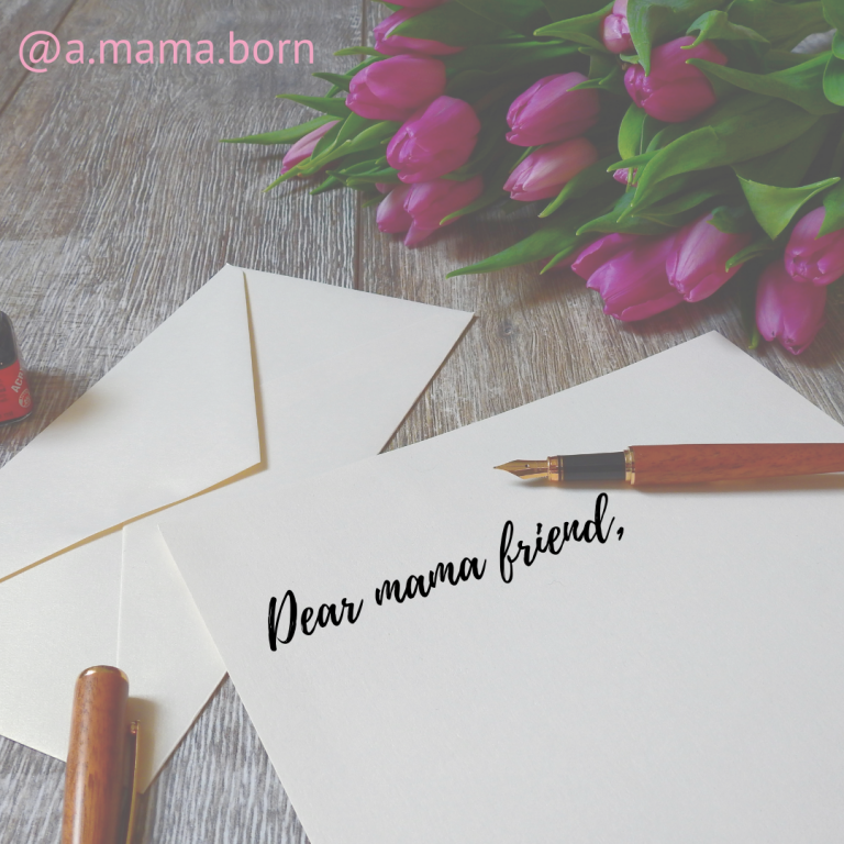 Read more about the article A letter to my mama friends.