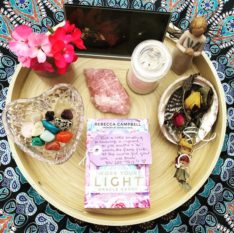 Read more about the article Setting up sacred space at home to nourish you in any moment.