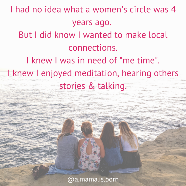 Read more about the article I had no idea what a women's circle was four years ago.
